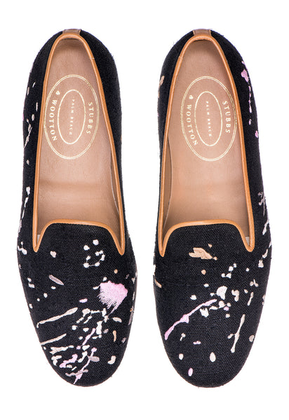 Pollock Black Women Slipper