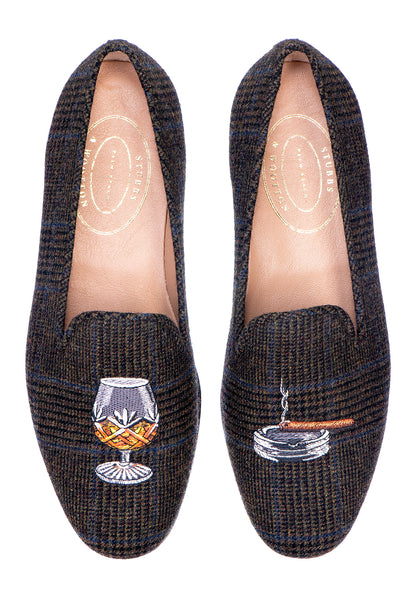 Brandy Tweed Men Slipper