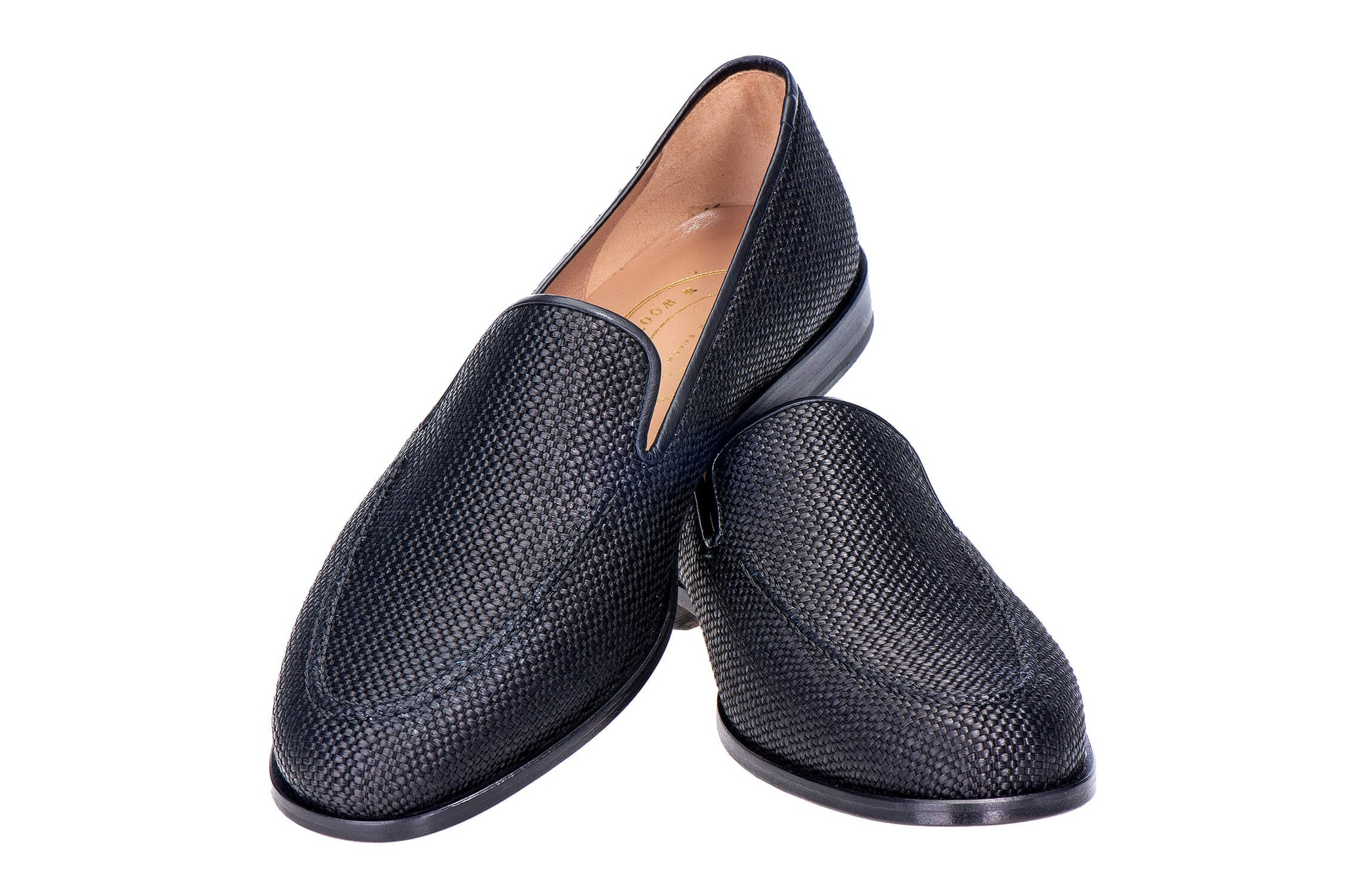 Venetian Raffia Men Slipper