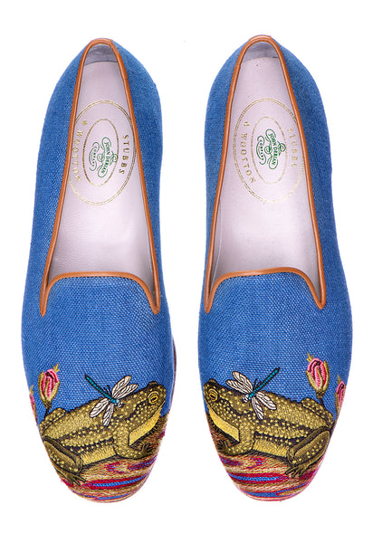 Ribbiting Marine (JD) Men Slipper - Ribbiting Marine (JD) Men Slipper