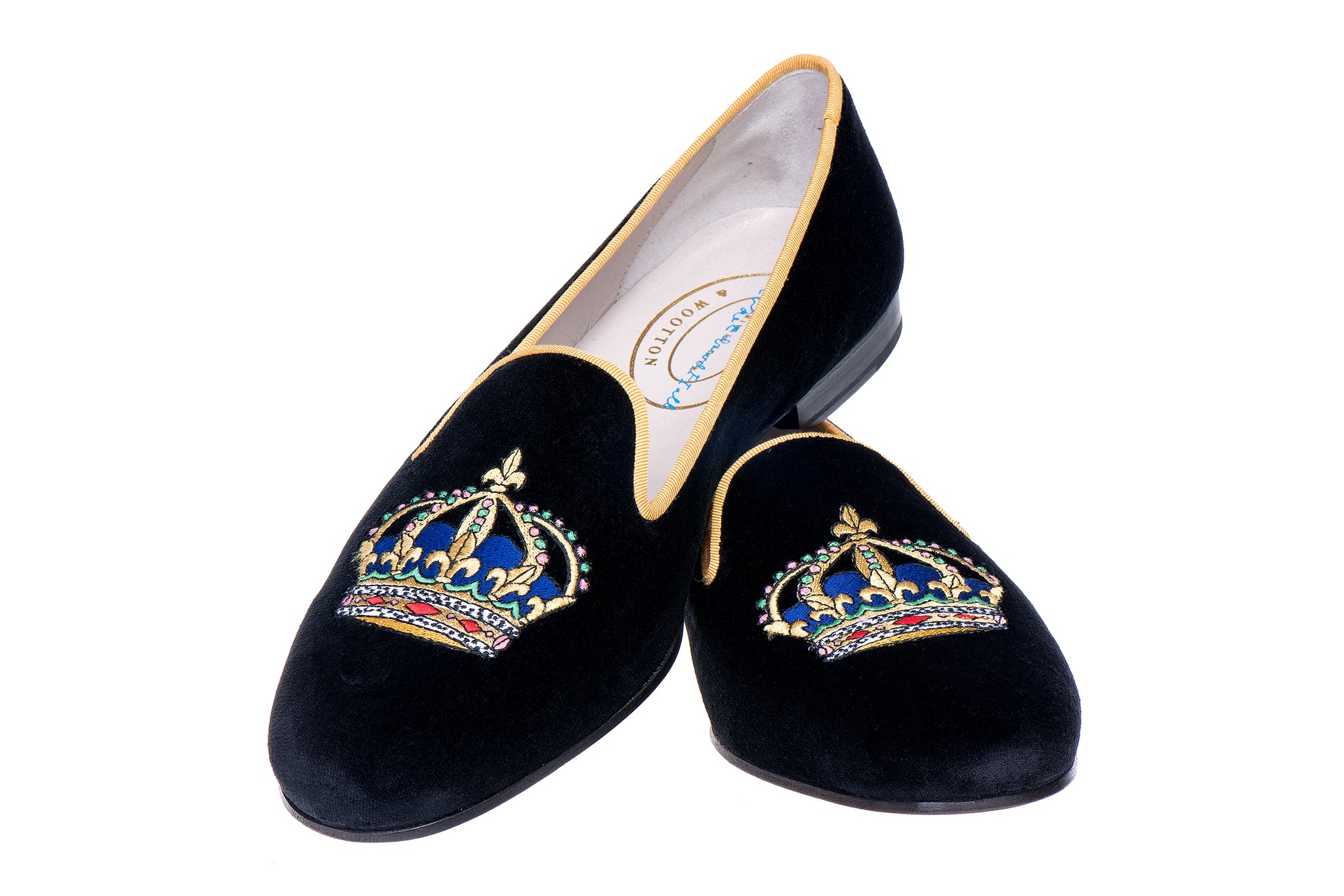Majesty Black Men Slipper (LEH)