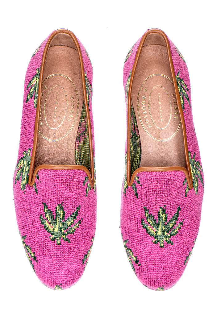 Hemp Pink Women Slipper