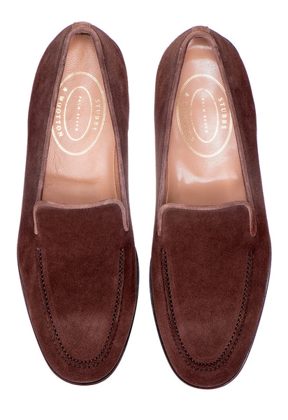 Venetian Split Espresso Men Slipper - Venetian Split Espresso Men Slipper
