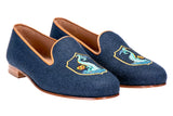 Delfino Navy Men Slipper