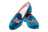 Coronet Teal Women Slipper (LEH)