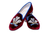 Plumes Ruby Men Slipper (LEH)
