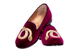 Cobra Burgundy (Jr.) Slipper