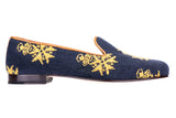 Medal Navy Men Slipper