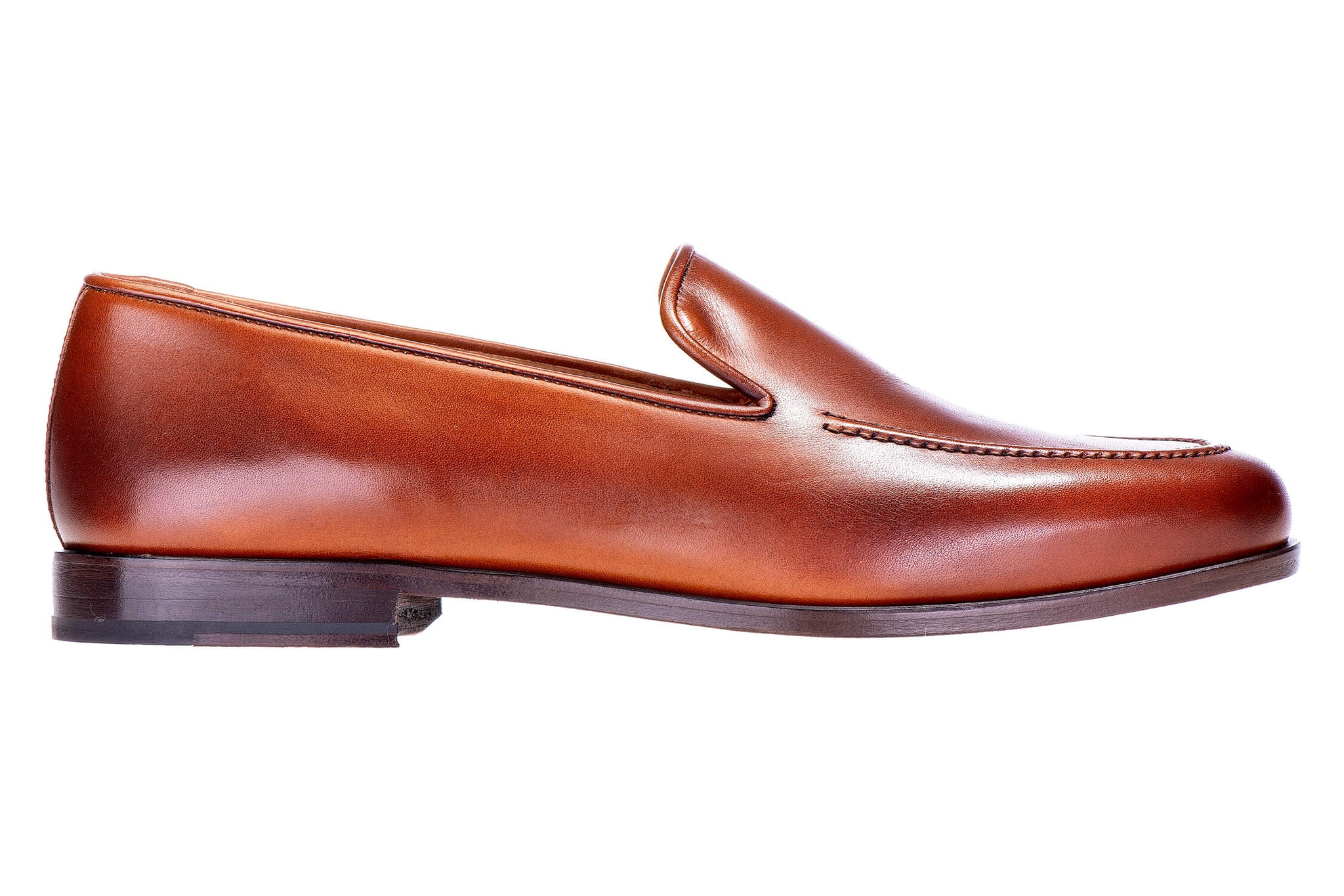 Venetian Calf Brown Men Slipper