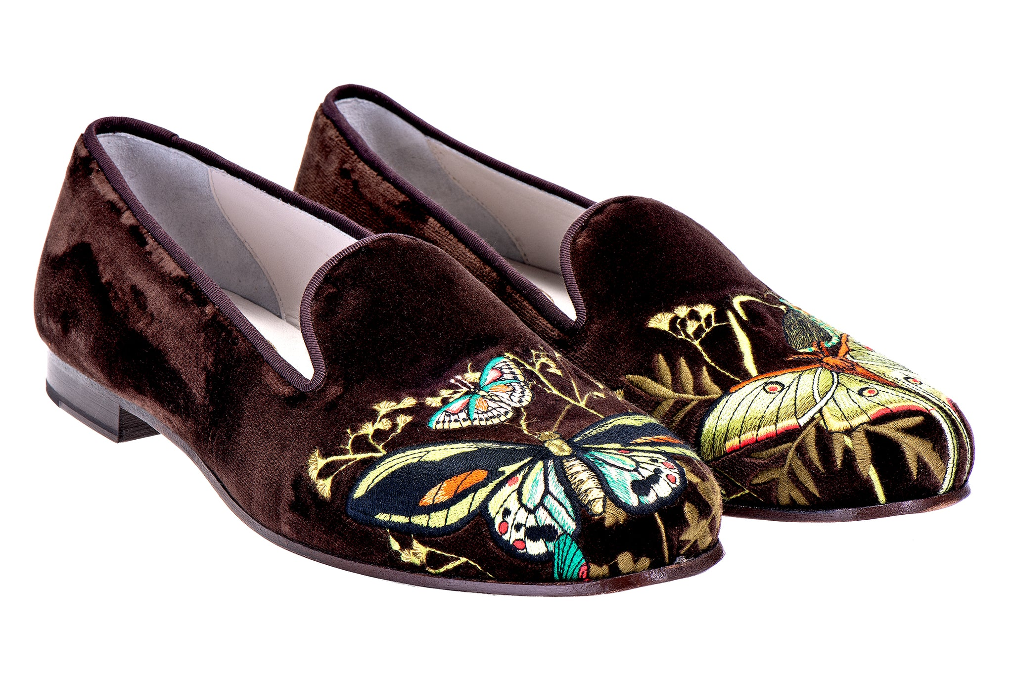 Mariposas Brown (JD) Men Slipper