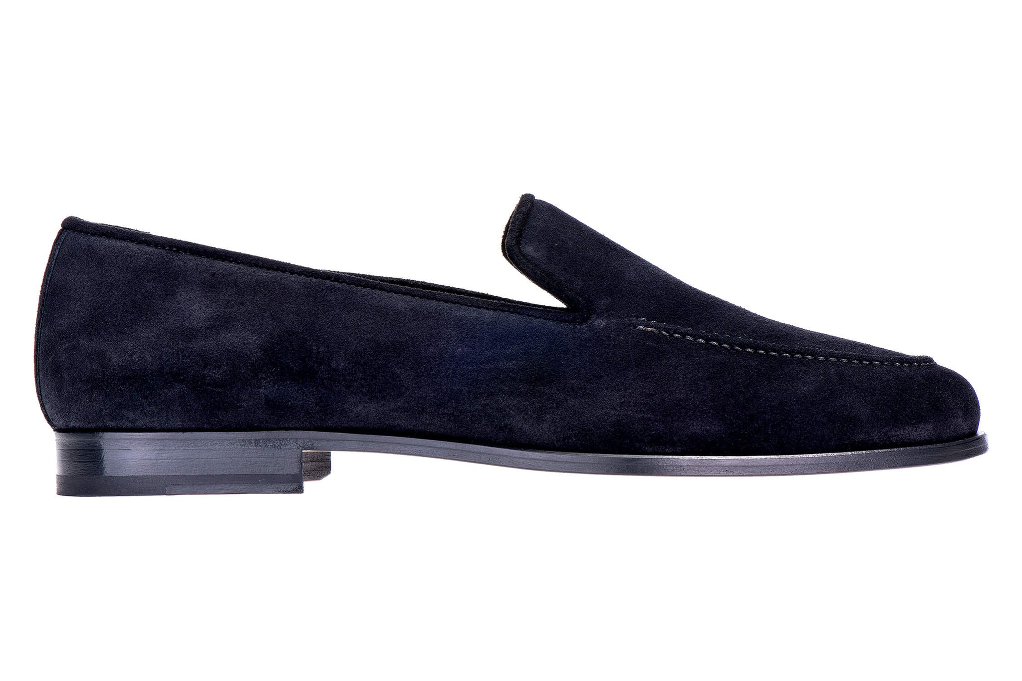 Venetian Split Black Men Slipper