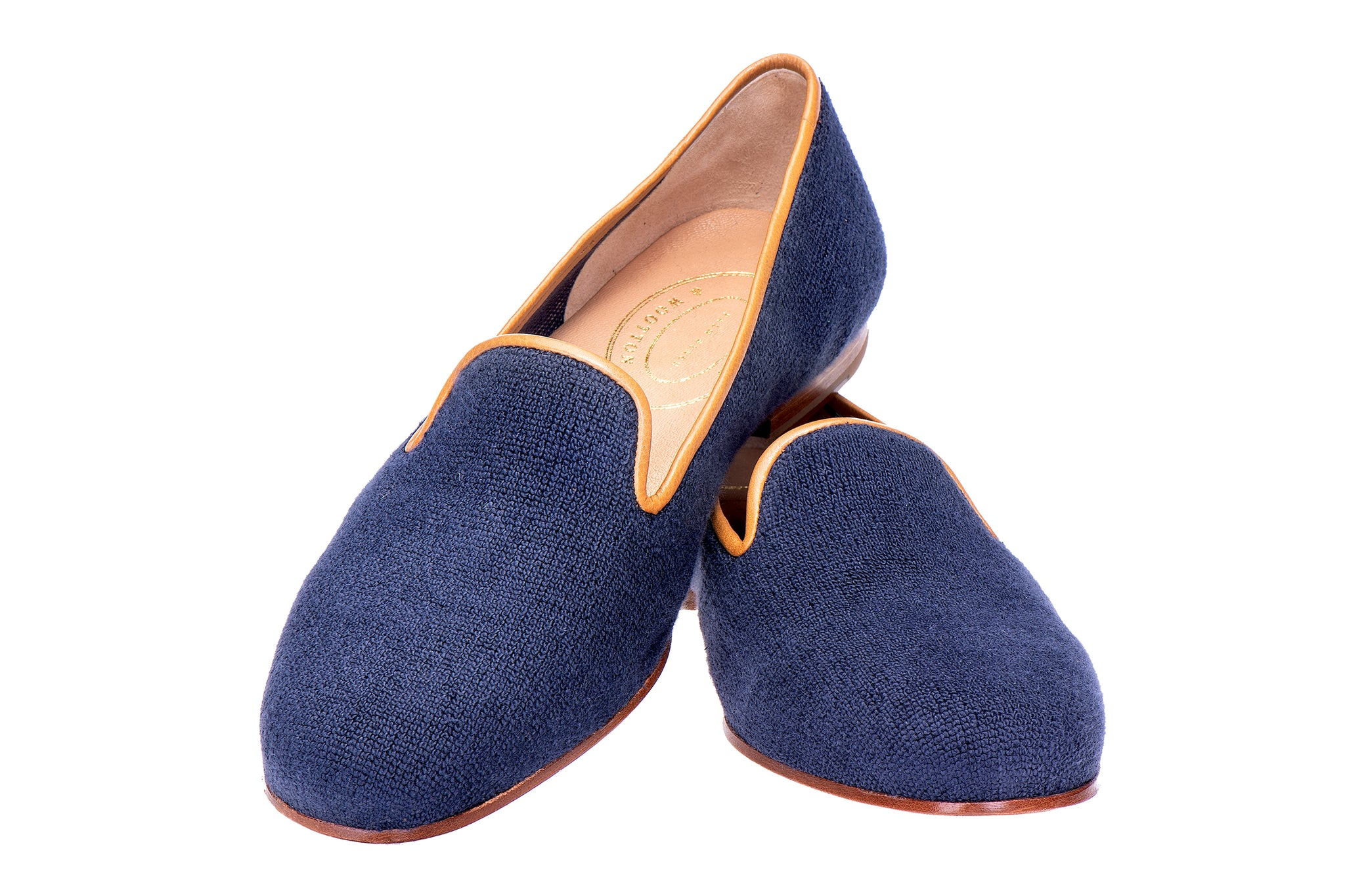 Canvas Navy Women Slipper