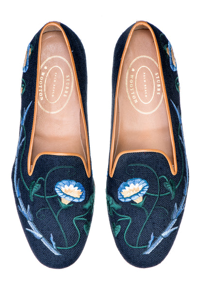 Glory Navy Women Slipper - Glory Navy Women Slipper