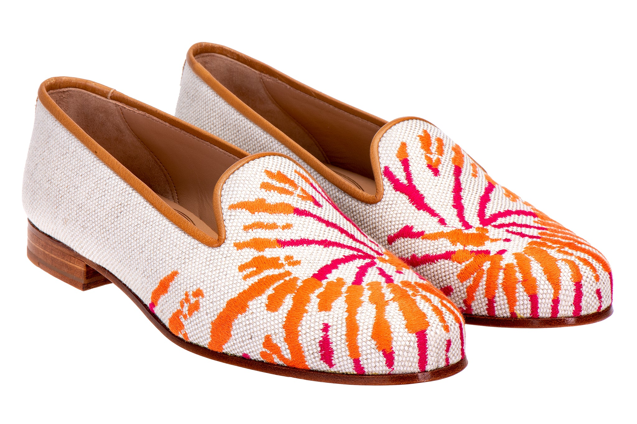 Tiedye Flax Women Slipper