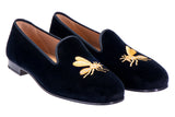 Vespula Black Men Slipper