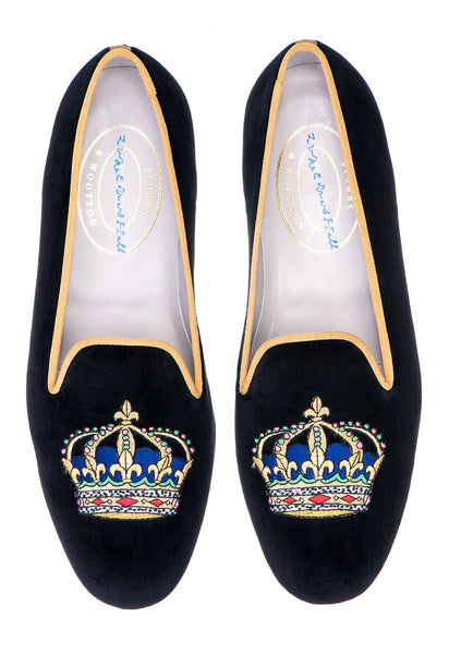 Majesty Black Women Slipper (LEH)