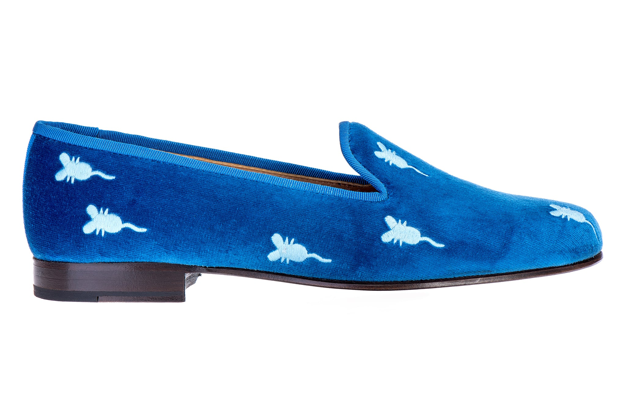 Mice Cobalt Women Slipper