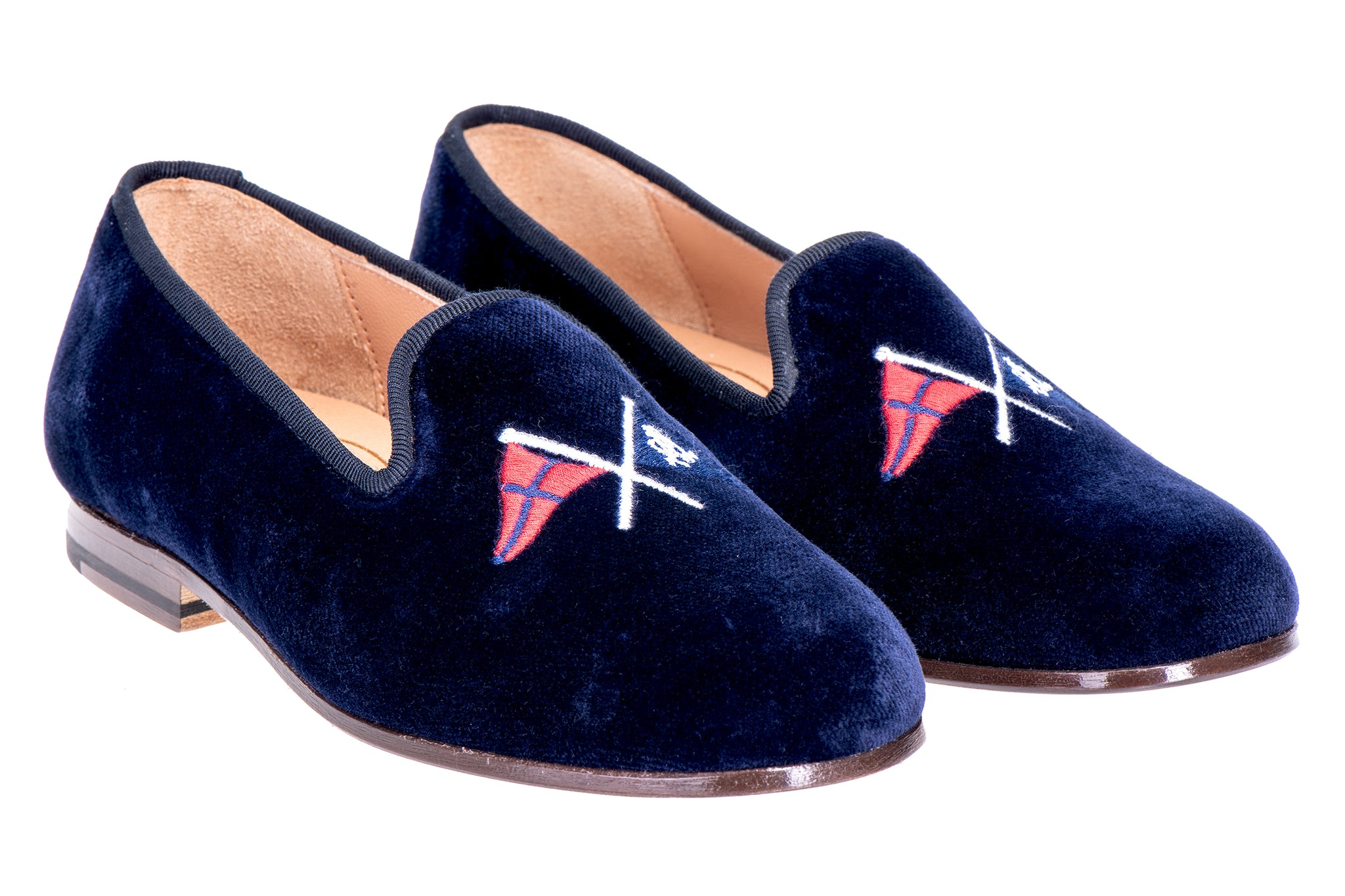 Burgees Navy (Jr.) Slipper