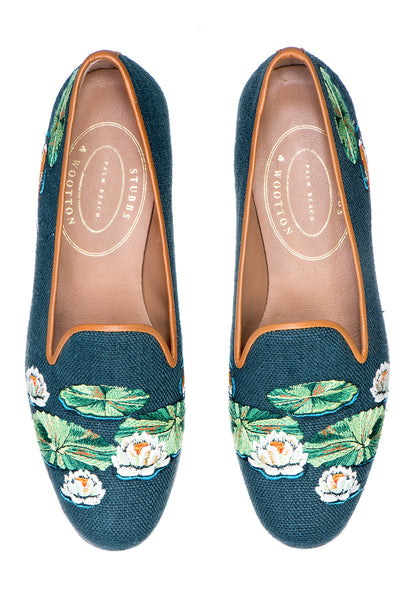 Pond Green Women Slipper