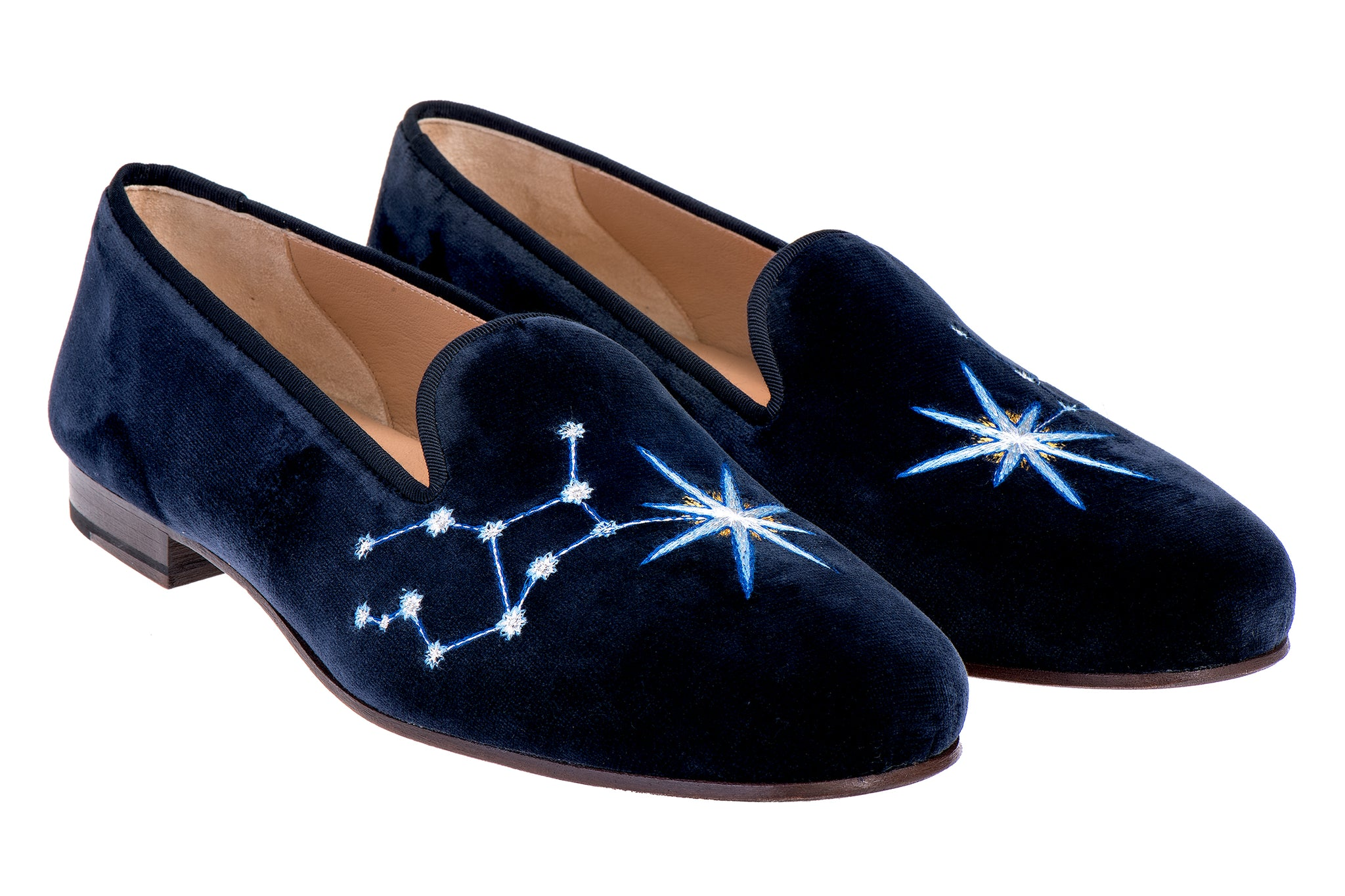 Virgo Midnight Men Slipper