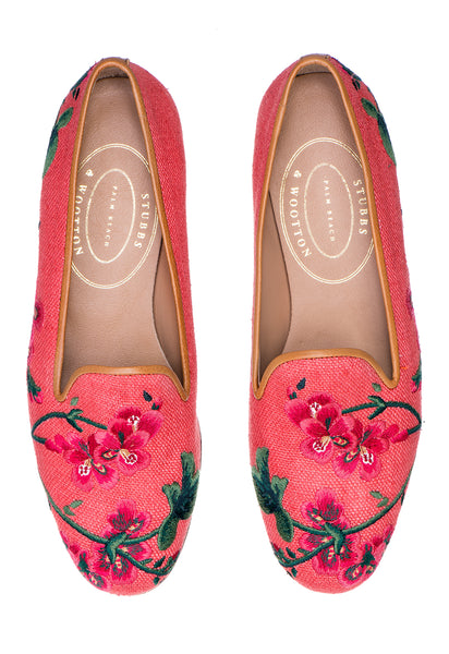 Geraniums Rosefinch Women Slipper - Geraniums Rosefinch Women Slipper