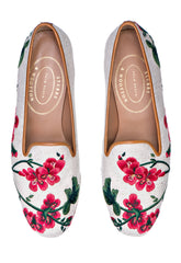 Geraniums Flax Women Slipper