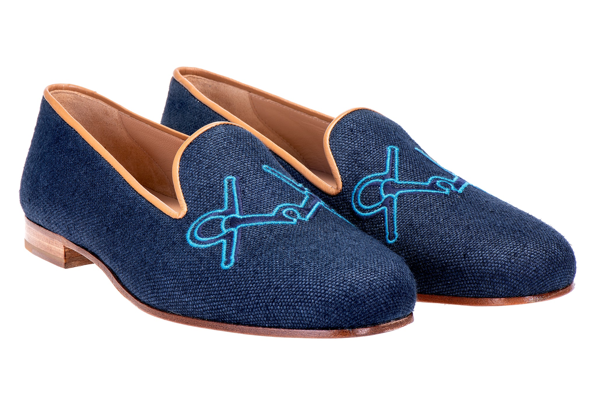 Hook Navy Women Slipper