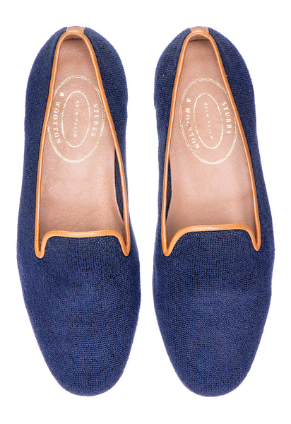 Canvas Navy Women Slipper - Canvas Navy Women Slipper