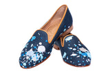 Spatter Navy Men Slipper