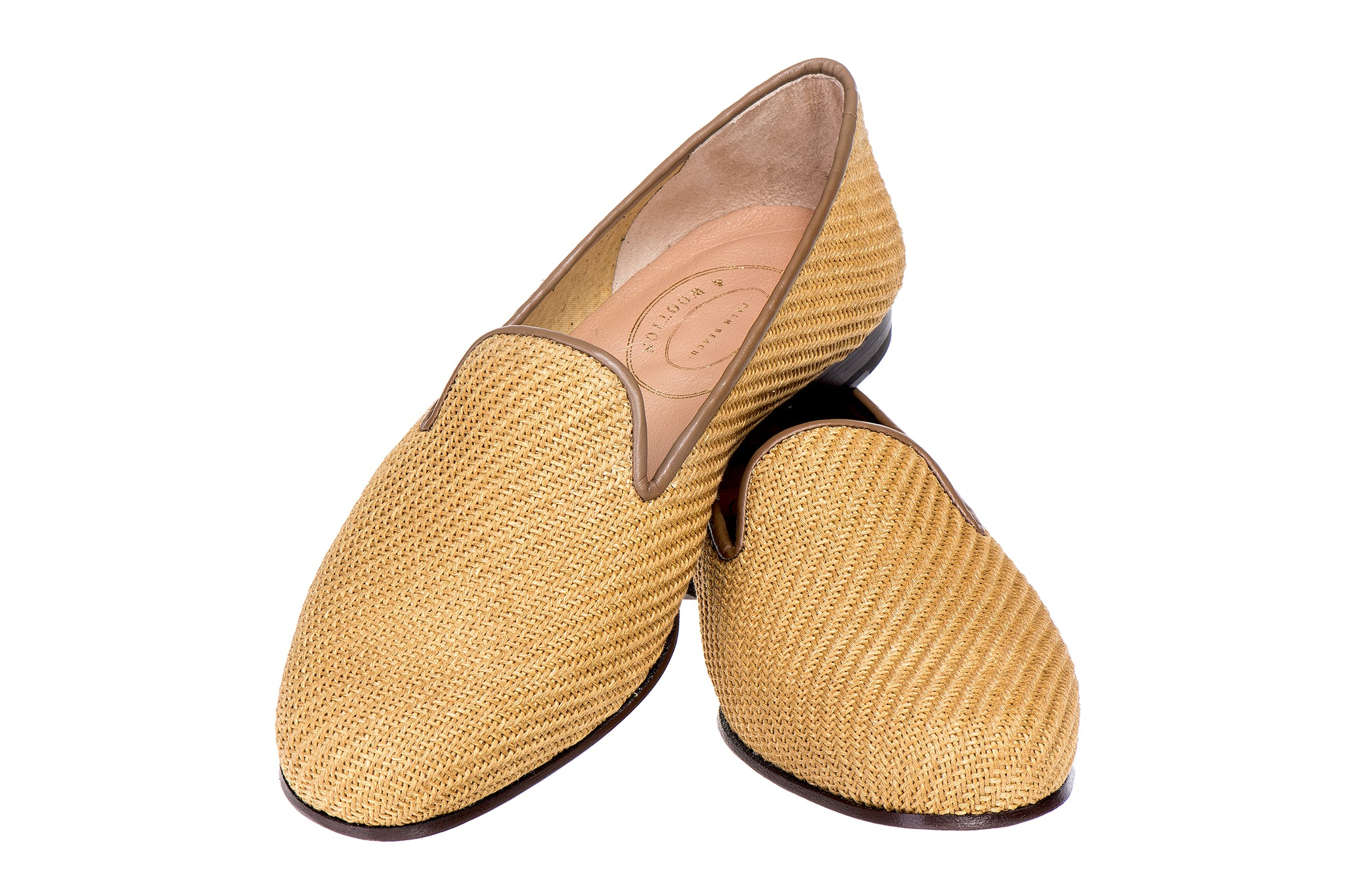 Sisal Gold Men Slipper