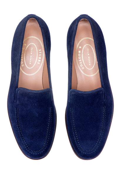 Venetian Split Navy Men Slipper - Venetian Split Navy Men Slipper