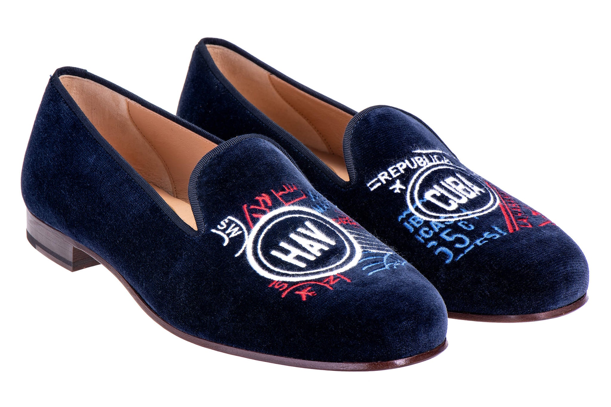 Stamp Navy Women Slipper