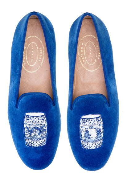 Garden Cobalt Men Slipper - Garden Cobalt Men Slipper