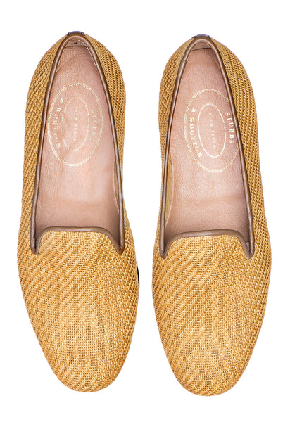 Sisal Gold Women Slipper - Sisal Gold Women Slipper