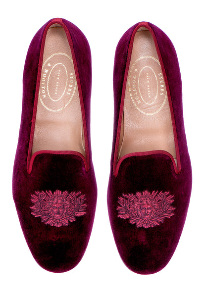 Louis Burgundy Men Slipper