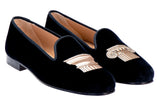 Capitals Black Women Slipper