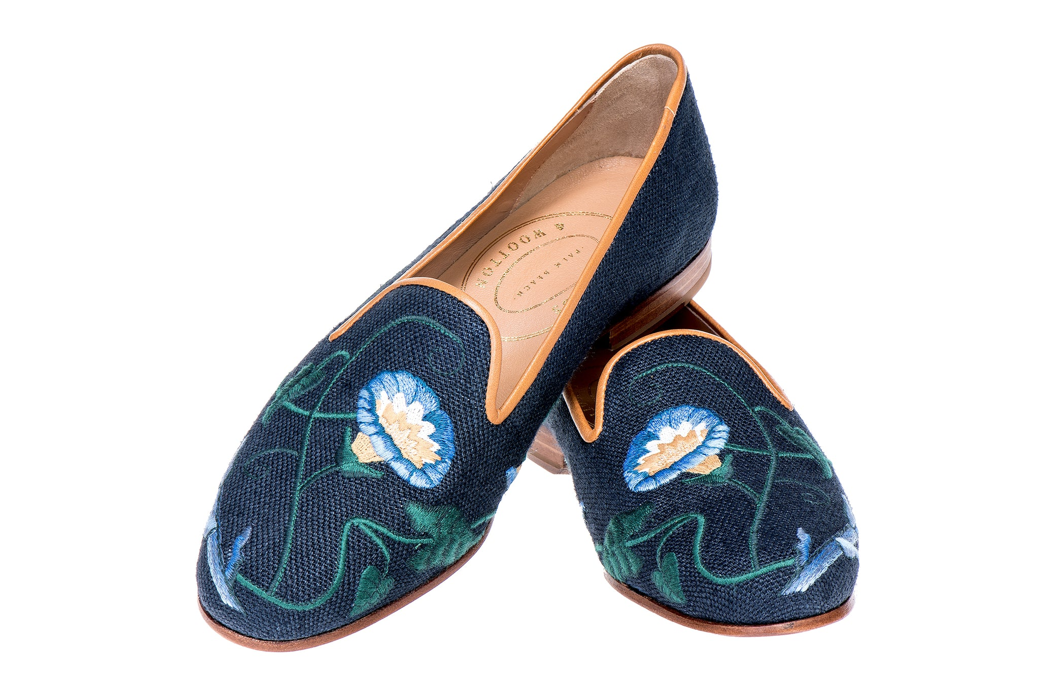 Glory Navy Women Slipper