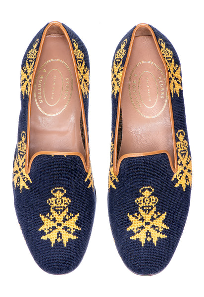 Medal Navy Women Slipper - Medal Navy Women Slipper