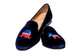 Undecided Navy Men Slipper TS