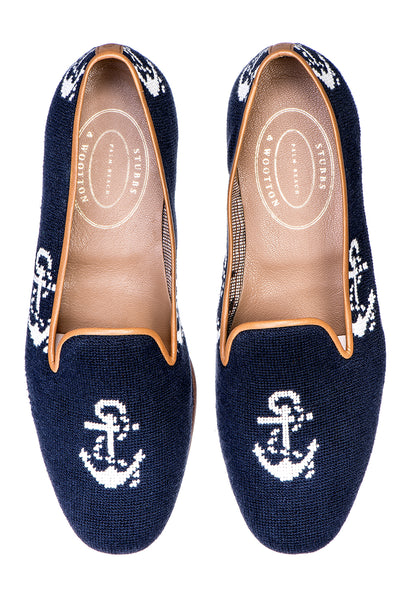 Anclas Navy Women Slipper - Anclas Navy Women Slipper