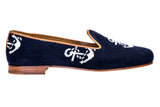 Anclas Navy Women Slipper