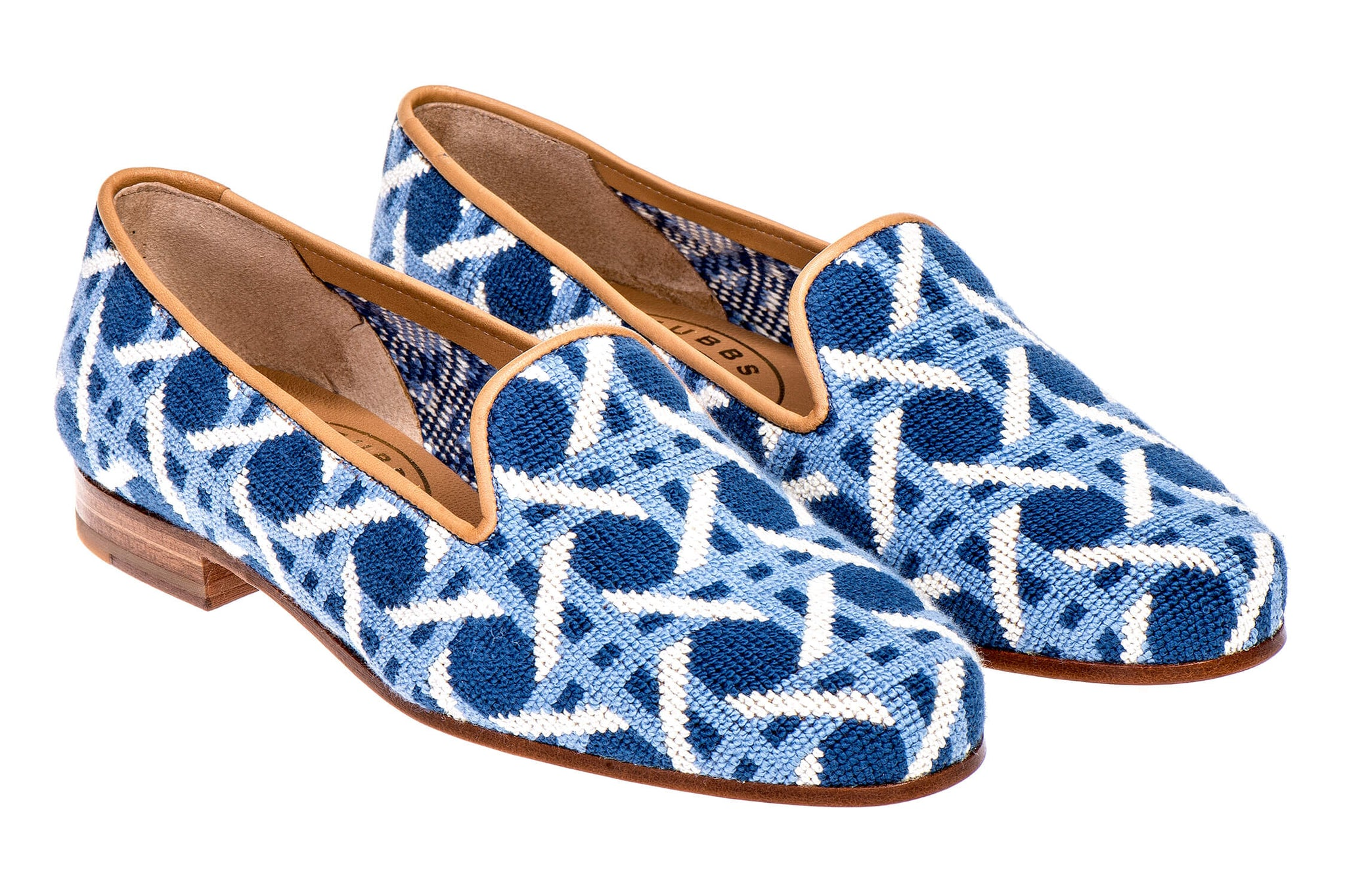 Cane Blue Men Slipper