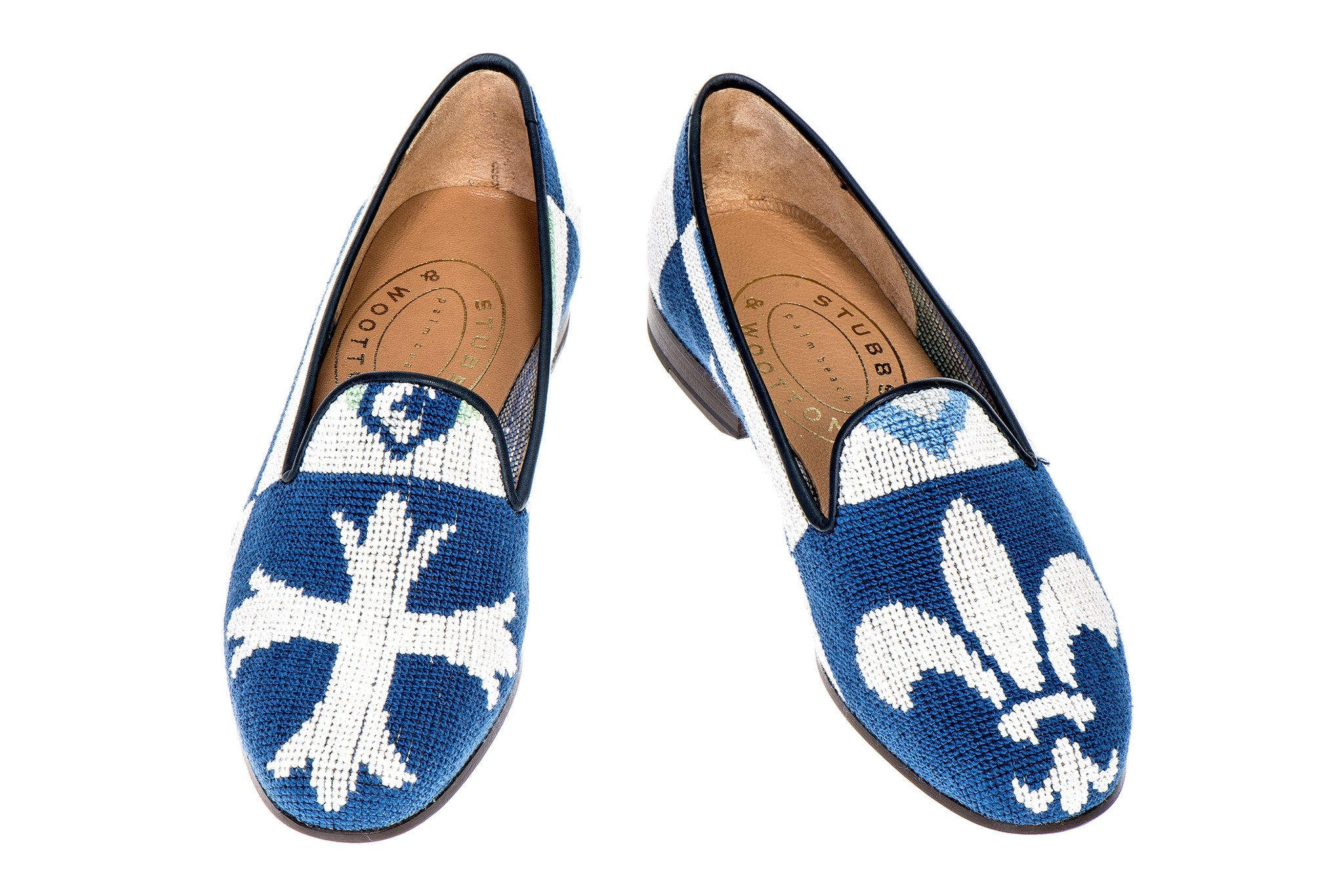 Crest Blue Men Slipper