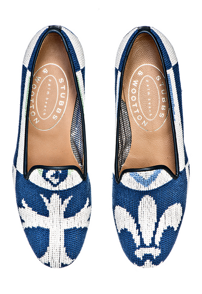 Crest Blue Women Slipper - Crest Blue Women Slipper