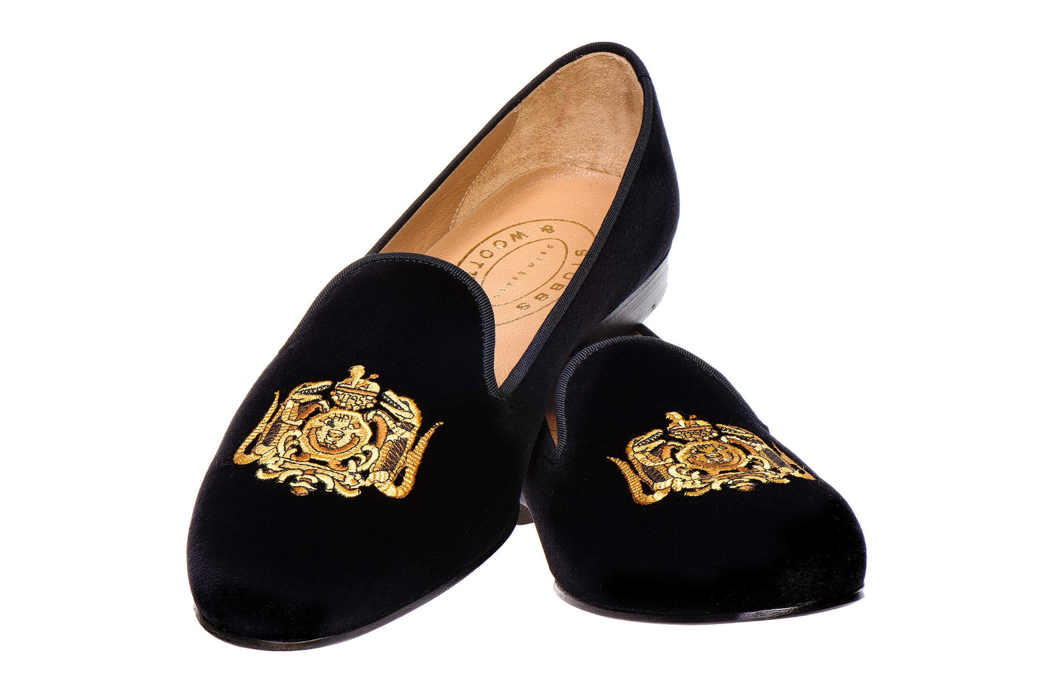 Hasty Pudding Crest Men Slipper