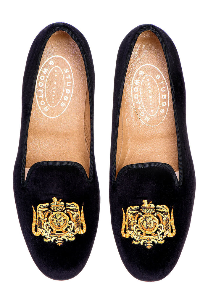 Hasty Pudding Crest Women Slipper