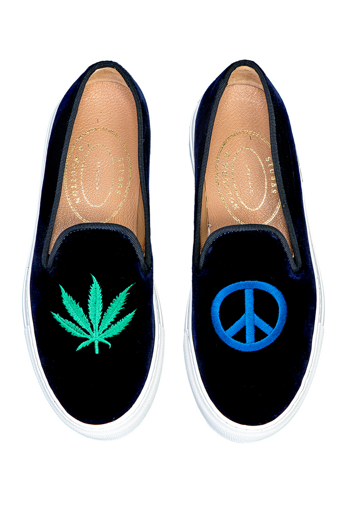 Hippie Navy Women Sneaker
