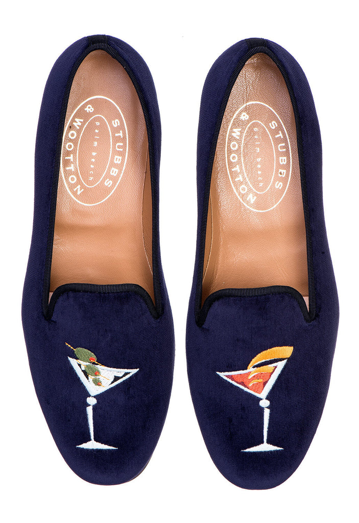 Stubbs & Wootton Martini Velvet Smoking Slippers 100% guaranteed cheap price sale finishline cheap pre order high quality cheap online Qy7i0psz