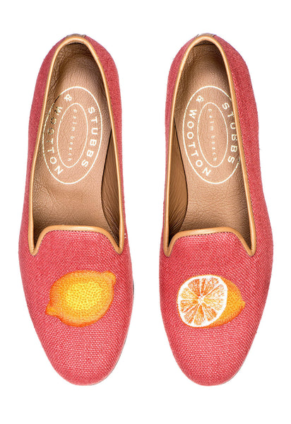 Orange Women Slipper