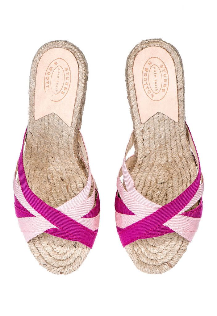 Pink/Rose Women Grace Rib